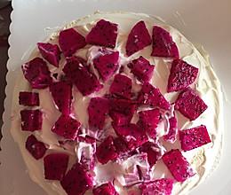 火龙果蛋糕的做法