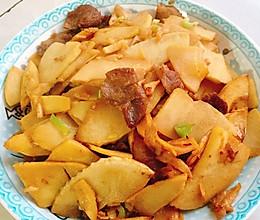 笋炒肉的做法