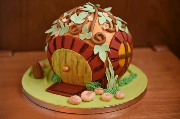 霍比特小屋蛋糕