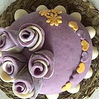 紫薯玫瑰花蛋糕的做法图解22