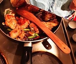 花菜烧鸡腿的做法