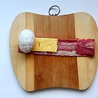 培根芝士饭团#铁釜烧饭就是香#的做法图解7