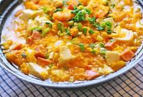 鲜虾豆腐红薯煲的做法