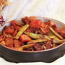 豆角土豆烧排骨—迷迭香