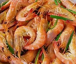 不加一滴水的盐焗虾,做法简单,味道超好!的做法