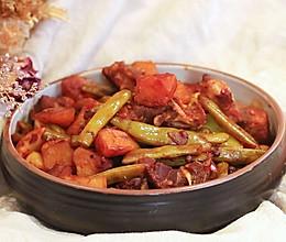 豆角土豆烧排骨—迷迭香的做法