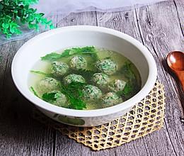 #餐桌上的春日限定#荠菜丸子菊叶汤的做法