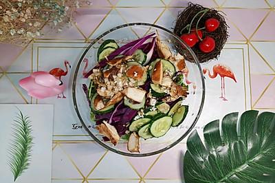 减脂沙拉(附秘制油醋汁配方)