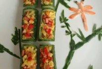 翠竹黄瓜盅的做法