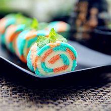 彩虹蛋糕卷#长帝烘焙节(刚柔阁)#