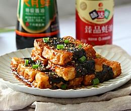 #中秋团圆食味# 河北-照烧海苔豆腐的做法