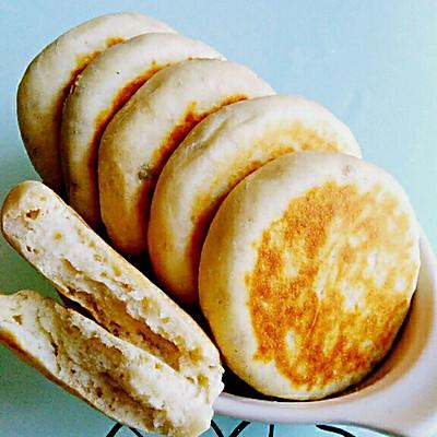 百搭的牛奶发面饼(能夹各种馅料的饼坯)