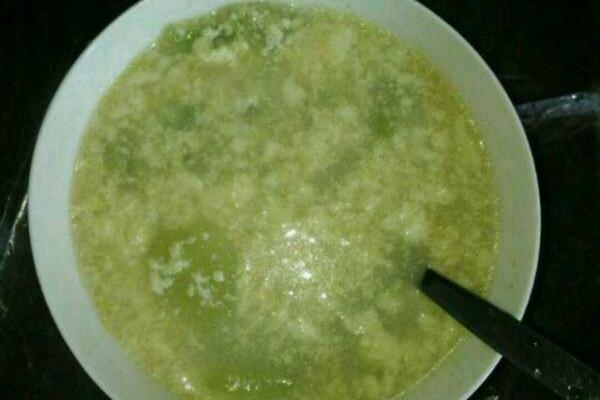 莴苣蛋汤的做法
