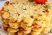 利仁电饼铛试用之香煎米饭饼的做法