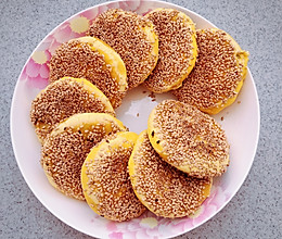无油低糖-玫瑰豆沙南瓜饼的做法