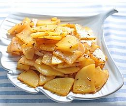 土豆片 的做法