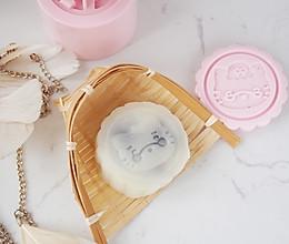 豆沙藜麦冰皮月饼的做法