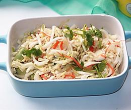 海蜇皮拌白菜心的做法