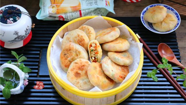 学生营养早餐饼的做法