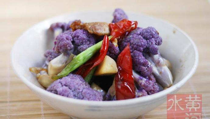 干煸紫花菜