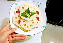 椒蒜藕片的做法