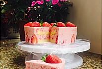 草莓慕斯蛋糕(8寸)的做法