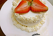 四寸淡奶油蛋糕的做法