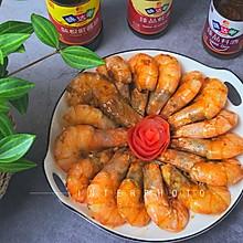 """#美食说出""""新年好""""#蒜香花开富贵虾"""