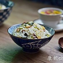 咸肉菜饭# 我要上首页清爽家常菜#