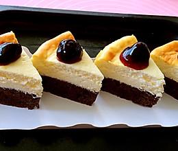 布朗尼芝士蛋糕的做法