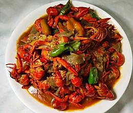 #美食视频挑战赛#家常口味虾(附小龙虾清洗方法)的做法