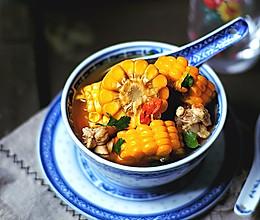 玉米枸杞鸡汤 免熬版的做法