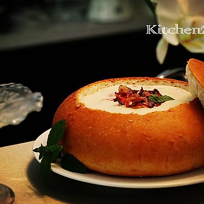 培根土豆芝士汤——写在PIER 39的面包蛤蜊汤后