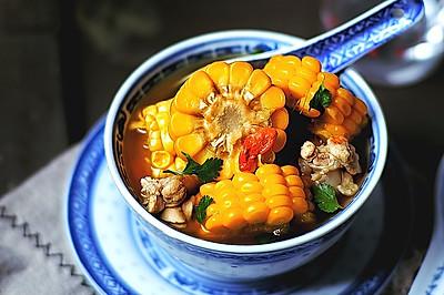 玉米枸杞鸡汤 免熬版