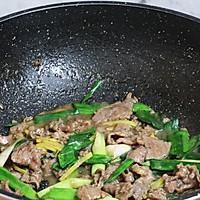 #钟于经典传统味#葱爆牛肉片的做法图解8