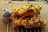 玉米香肠奶酪包的做法