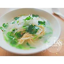 干豆腐萝卜丝汤