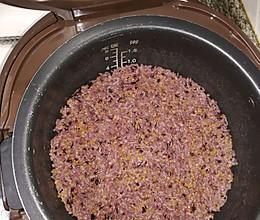 米饭1(黑米、小米、糯米、玉米碎、大米)的做法