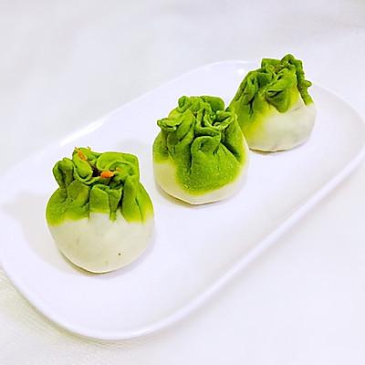 小清新的翡翠饺子