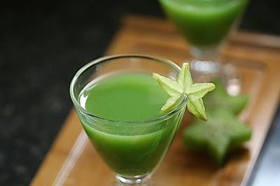 小麦草杨桃汁