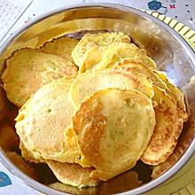 玉米面西葫芦营养小蛋饼