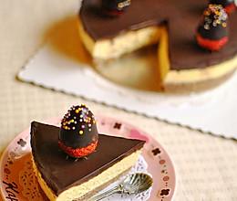 香浓巧克力芝士的做法