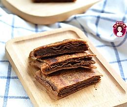 #我们约饭吧# 麻酱红糖酥饼的做法