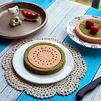 西瓜小蛋糕的做法图解11
