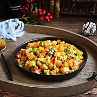 #520,美食撩动TA的心!# 鸡丁炒杂蔬的做法图解15