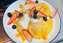 #美食视频挑战赛#简单美味舒芙蕾松饼下午茶的做法