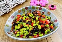 【蔓德拉的厨房】酱瓜炒毛豆的做法