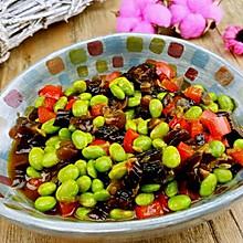 【蔓德拉的厨房】酱瓜炒毛豆