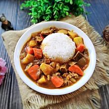#吃货打卡季#比餐厅还好吃的咖喱牛肉饭
