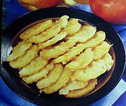 健胃润肠--炸苹果的做法